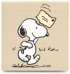snoopy mail