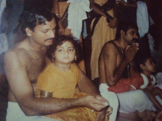shalu vidyarambham