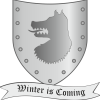 Game of thrones- house stark- shield